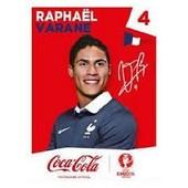 Vignette Panini Euro 2016 N�F4 : Rapha�l Varane