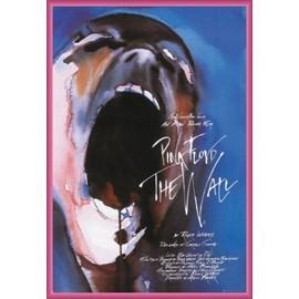 Poster encadré: Pink Floyd - The Wall (91x61 cm), Cadre Plastique, Pink