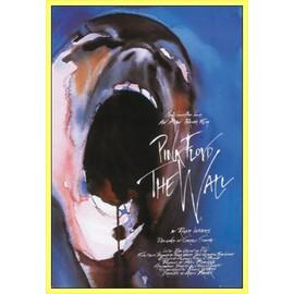 Poster encadré: Pink Floyd - The Wall (91x61 cm), Cadre Plastique, Jaune