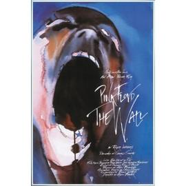 Poster encadré: Pink Floyd - The Wall (91x61 cm), Cadre Plastique, Blanc