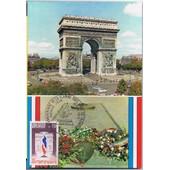 Carte Postale Premier Jour Paris Et Ses Monuments