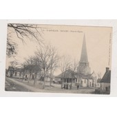 Cp444 Saint Pourcain Saulcet Place De L' Eglise