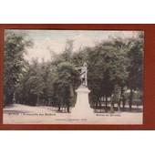 1 Cpa Autun Promenade Des Marbres Statue De Divitiac