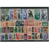 Trieste 250 Timbres Differents Obliteres
