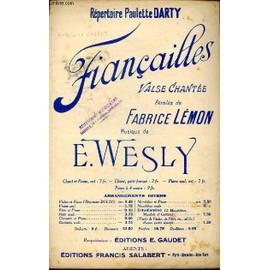 Fiancailles - Repertoire