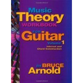 Music Theory Workbook for Guitar VOL 1 : Chord and Interval Construction (Couverture à spirales)