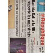 La Nouvelle R�publique / 11-09-2007 N�19111 : Jean Louis Aubert (1/4p) - Etienne Daho (1/4p)