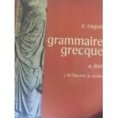 Grammaire Grecque de E.Ragon