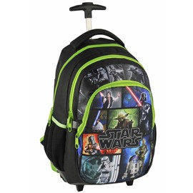 Star Wars Sac A Roulettes Trolley Sac A Dos Cartable �cole