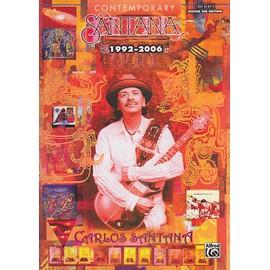 Contemporary Santana 1992-2006: Guitar Tab Edition - partitions guitare