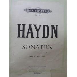 Haydn Sonaten band II n 11-20