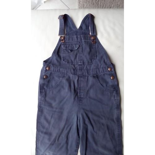 Salopette <strong>gap</strong> coton 4 ans bleu