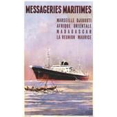 Affiche Messageries Maritimes