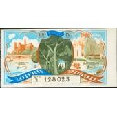 Ancien Billet , Ticket De Loterie 100 Francs 1940 12 Eme Tranche