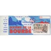 Ancien Billet , Ticket De Loterie Nationale 3 Francs 1/10eme De La Bourse