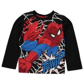 T-Shirt Manches Longues Marvel Spiderman