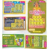 Ancien Billet , Ticket De Loterie , Jeux De Grattage Portugal