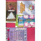 Ancien Billet , Ticket De Loterie Jeux De Grattage Suisse