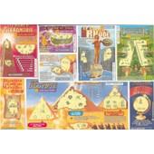 Ancien Billet , Ticket De Loterie Jeux De Grattage Fran�aise Des Jeux 7 Extra Merveilles Du Monde