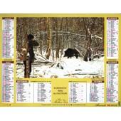 Almanach Du Facteur 1992 - D�partement 15 (Cantal)