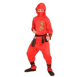 D�guisement Dragon Ninja Rouge - 8/10 Ans
