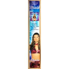 Sheila pancarte double CD