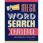 Go!Games Mega Word Search Challenge de John Samson