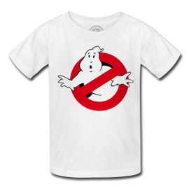T-Shirt Enfant Ghostbusters Fantome Film Logo Peur Scary Fun
