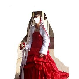 Robe De Mari�e Jr Unique Rouge