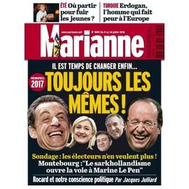 Marianne N� 1005 : Toujours Les M�mes ! Il Est Temps De Changer Enfin...