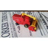 Moissonneuse Batteuse Match Box N� 51 Combine Harvester Made In England