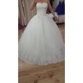 Robe De Mari�e Dona Princesse 38 Blanc Cass�