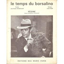 Régine Le temps du borsalino