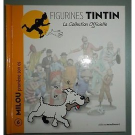 Figurines Tintin : La Collection Officiel : N� 5 Milou Prfom�ne Son Os 5