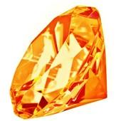 Diamant D�coratif En Verre - Presse-Papier Plusieurs Couleurs - Diam�tre 5 Cm