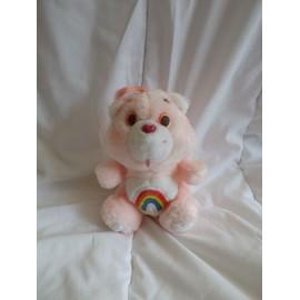 Peluche Bisounours Rose Arc En Ciel Care Bears