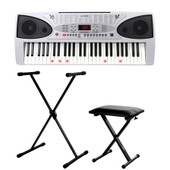 Mcgrey Lk-5430 Clavier Touches Lumineuses Pack Incl. Stand Et Banc