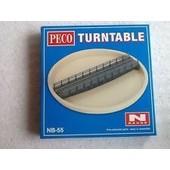 Peco Products Nb-55 N Scale Turntable(Plaque Tournante)-Peco