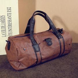 Eleyooner 49*15*20cm Vintage Sac De Voyage Randonn�e Cuir Sac � Bandouli�re Etanche Valise � Main Multifonctions Haute Capacit�