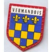Ecusson Publicitaire, Caf� Maurice :Vermandois