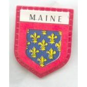 Ecusson Publicitaire, Caf� Maurice : Maine