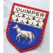 Ecusson Publicitaire, Caf� Maurice :Quimper