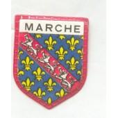 Ecusson Publicitaire, Caf� Maurice : Marche
