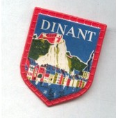 Ecusson Publicitaire, Caf� Maurice : Dinant