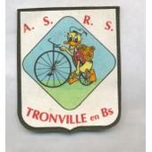 Ecusson En Tissu A.S.R.S. Tronville En Barrois Donald