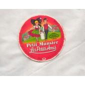 Etiquette De Boite De Fromage Les Petits Amis Munster 68