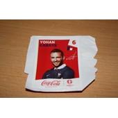 Stickers Coca Cola Euro 2016 N� 06 Cabaye