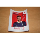 Stickers Coca Cola Euro 2016 N� 09 Giroud
