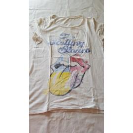 T-Shirt Auchan Coton M Ecru