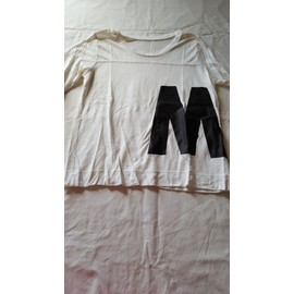 T-Shirt Auchan Coton S Blanc